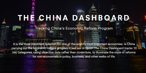 The China Dashboard – Tracking China's Economic Reforms