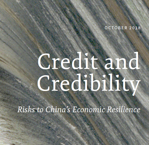 Credit and Credibility: Risks to China's Economic Resilience